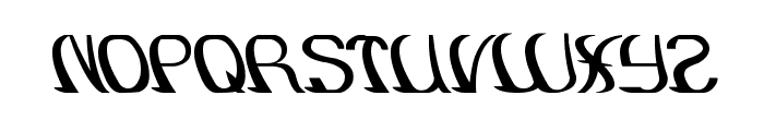 SURFING and Play Font UPPERCASE