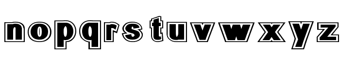 SURROUNDED large Font LOWERCASE