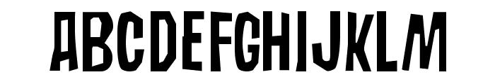 Subaccuz-Normal Font UPPERCASE