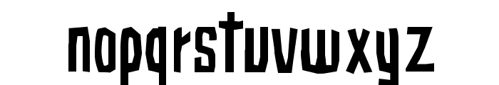 Subaccuz-Normal Font LOWERCASE