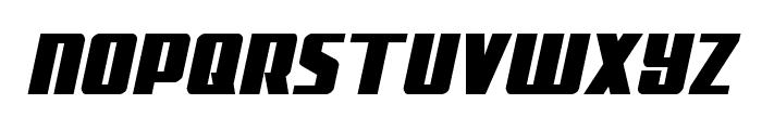 Subadai Baan Bold Italic Font UPPERCASE