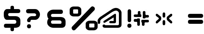 Subatomic Tsoonami Font OTHER CHARS