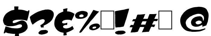 Subito Black Font OTHER CHARS