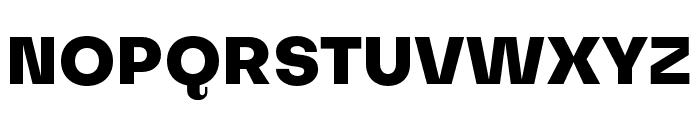 Subjectivity-ExtraBold Font UPPERCASE