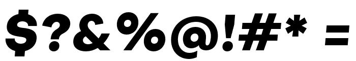 Subjectivity-ExtraBoldSlanted Font OTHER CHARS