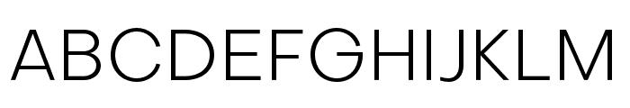 Subjectivity-Light Font UPPERCASE