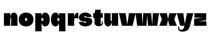Subjectivity-Super Font LOWERCASE