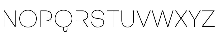 Subjectivity-Thin Font UPPERCASE
