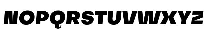 SubjectivitySerif-BlackSlant Font UPPERCASE