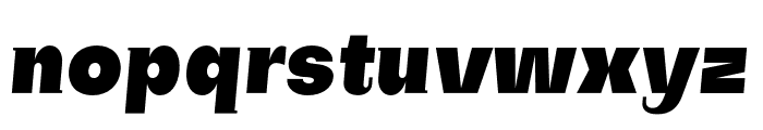 SubjectivitySerif-BlackSlant Font LOWERCASE