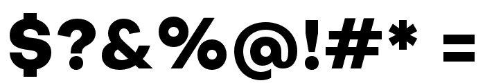 SubjectivitySerif-ExtraBold Font OTHER CHARS