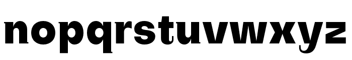 SubjectivitySerif-ExtraBold Font LOWERCASE