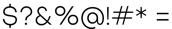 SubjectivitySerif-Light Font OTHER CHARS