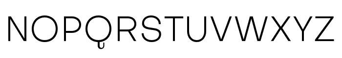 SubjectivitySerif-Light Font UPPERCASE