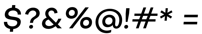 SubjectivitySerif-MediumSlanted Font OTHER CHARS