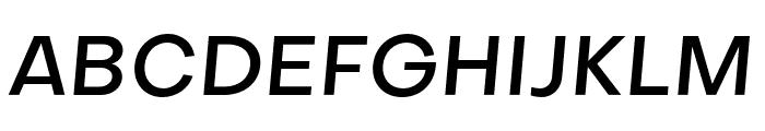 SubjectivitySerif-MediumSlanted Font UPPERCASE