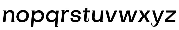 SubjectivitySerif-MediumSlanted Font LOWERCASE