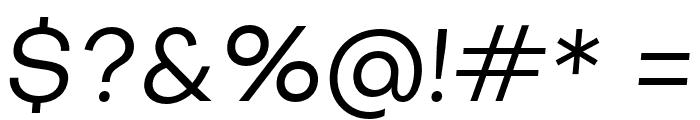SubjectivitySerif-Slanted Font OTHER CHARS