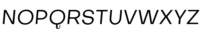 SubjectivitySerif-Slanted Font UPPERCASE