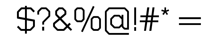 Sublimation Light Font OTHER CHARS