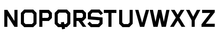Sublimation Medium Font UPPERCASE
