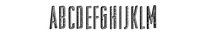 Substrate Font UPPERCASE
