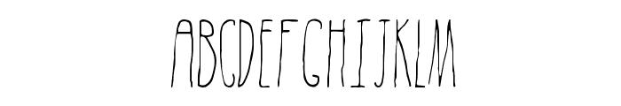 Subterranean Dylan Regular Font UPPERCASE