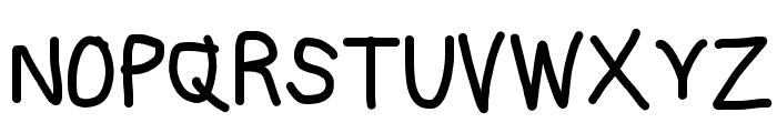 Subtitle Bold Font UPPERCASE
