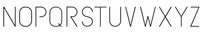 SubtleSansLight-Regular Font LOWERCASE