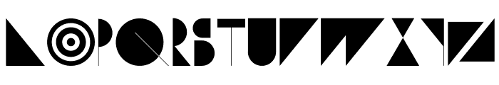 Subversion-Display Font LOWERCASE