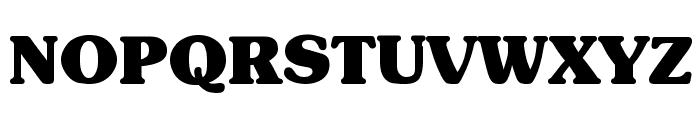 Subway Black Font UPPERCASE