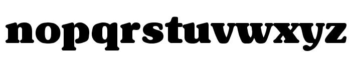 Subway Regular Font LOWERCASE