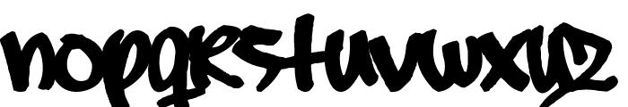 Subway_Free Font LOWERCASE