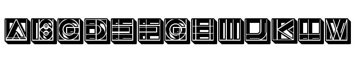 Success 3D Regular Font UPPERCASE
