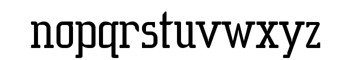 SucesionSlab-Regular Font LOWERCASE