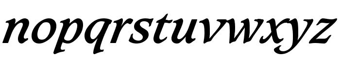 Sudbury Book Bold Italic Font LOWERCASE