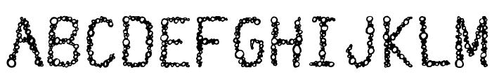 Suds Regular Font UPPERCASE