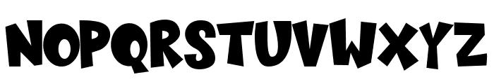 Sugar Bomb Font UPPERCASE