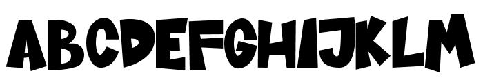 Sugar Bomb Font LOWERCASE