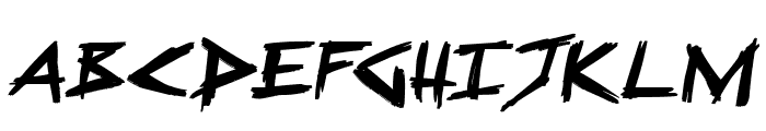 Sugar Death 2 Italic Font UPPERCASE