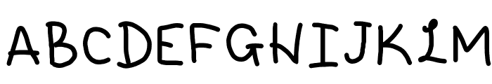 Sugar Lite Font UPPERCASE