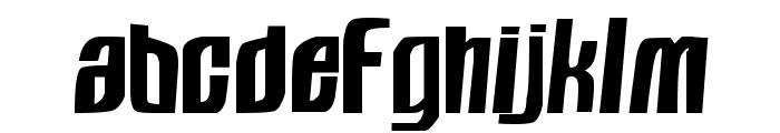 Sugar Ray Font LOWERCASE