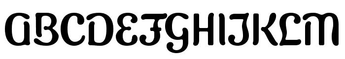Sugar & Vinegar Font UPPERCASE