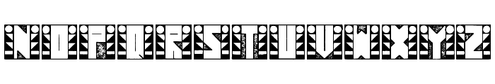 SugarFootStrut Font UPPERCASE