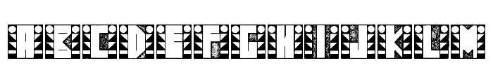 SugarFootStrut Font LOWERCASE