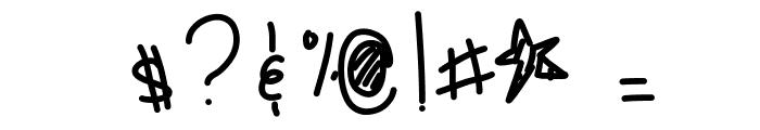 SugarHoneyIcedTea Font OTHER CHARS