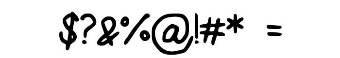 SugarLemonade Font OTHER CHARS