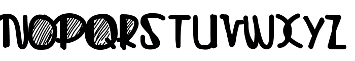 Sugarhill Font UPPERCASE