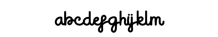 Sugarly Font LOWERCASE