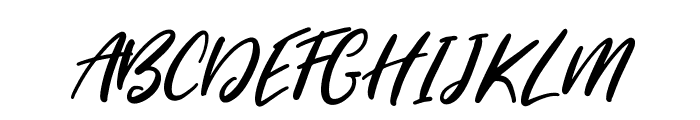 SugarstyleMillenial-Regular Font UPPERCASE